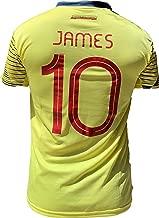 K4NCHA Colombian Soccer Jersey FCF 2020 for Men Printed No 10 James