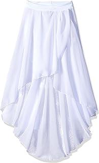 Gia Mia 女童大号高低雪纺裙芭蕾舞蹈服工作室练习表演