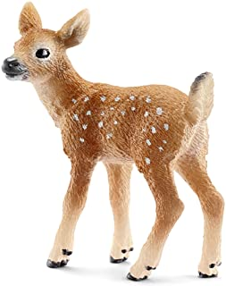 Best SCHLEICH White-Tailed Fawn Toy Figure Review