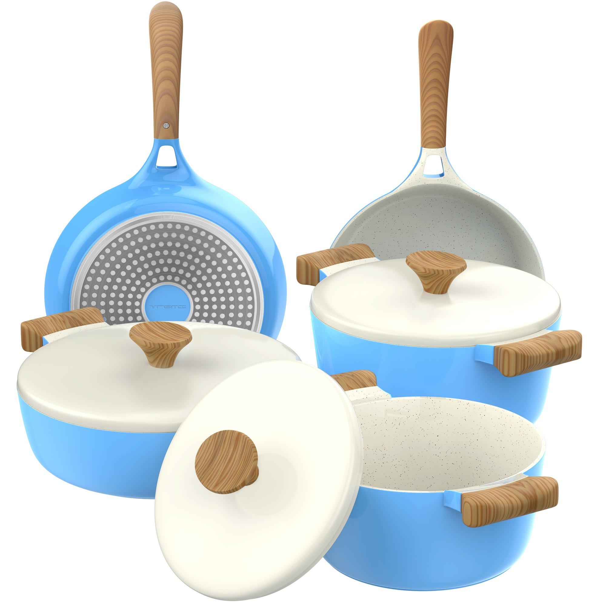 Vremi Piece Ceramic Nonstick Cookware