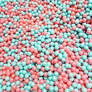 Gender Reveal Pearl Beads Pink And Blue Hard Candy 2 Pounds