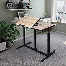 Multifunction Tiltable Drawing Desk Height Adjustable Office Desk Writing Table Craft Drafting Table Office Computer Desk Home Workstation