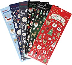 Best glitter christmas stickers Reviews