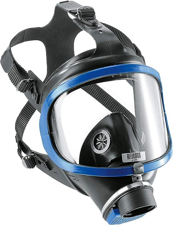 maschera a pieno facciale dräger x-plore 6300 con attacco filettato standard rd40 unificato -omologata -