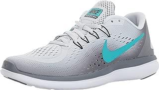 Nike Women's Flex 2017 RN, Running, Grey/Jade, 10 M US