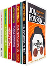Jon Ronson Collection 7 Books Bundle set (The Psychopath Test, So You've Been Publicly Shamed, Men Who Stare At Goats, The...