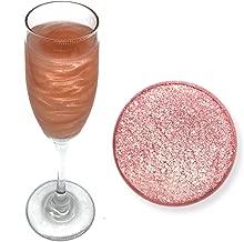 Rose Gold Beer & Beverage Glitter | 4 Gram Jar | Edible Food Grade Beer Glitter, Cocktail Glitter & Beverage Glitter from Bakell