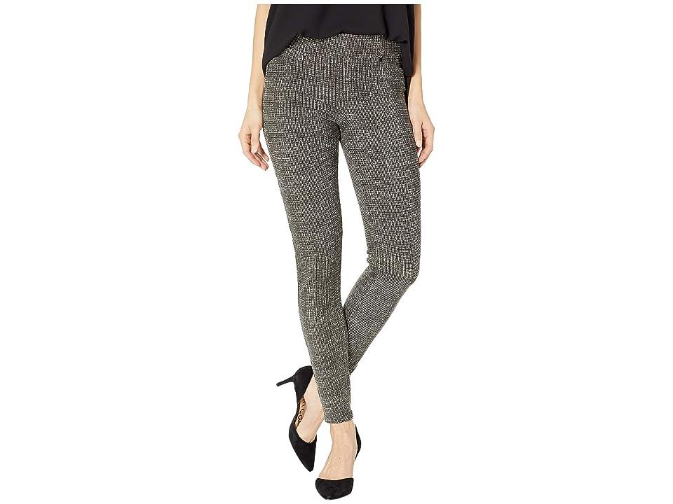 Liverpool Sienna Pull-On Leggings in Tweed Soft Ponte Knit in White Whisper (White Whisper) Women