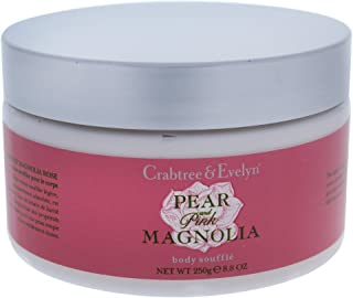 Crabtree & Evelyn Crabtree & Evelyn Pear and Pink Magnolia Body Souffle - 8.64 Ounce Body Lotion, 250 ml