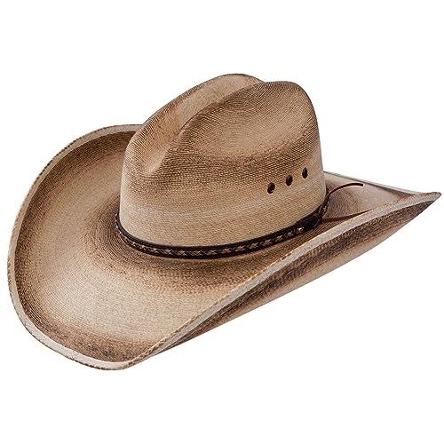 439dc23553905 Resistol Jason Aldean Georgia Boy - Mexican Palm Straw Cowboy Hat