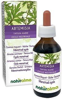 ARTEMISA COMÚN (Artemisia vulgaris) hierba con flores