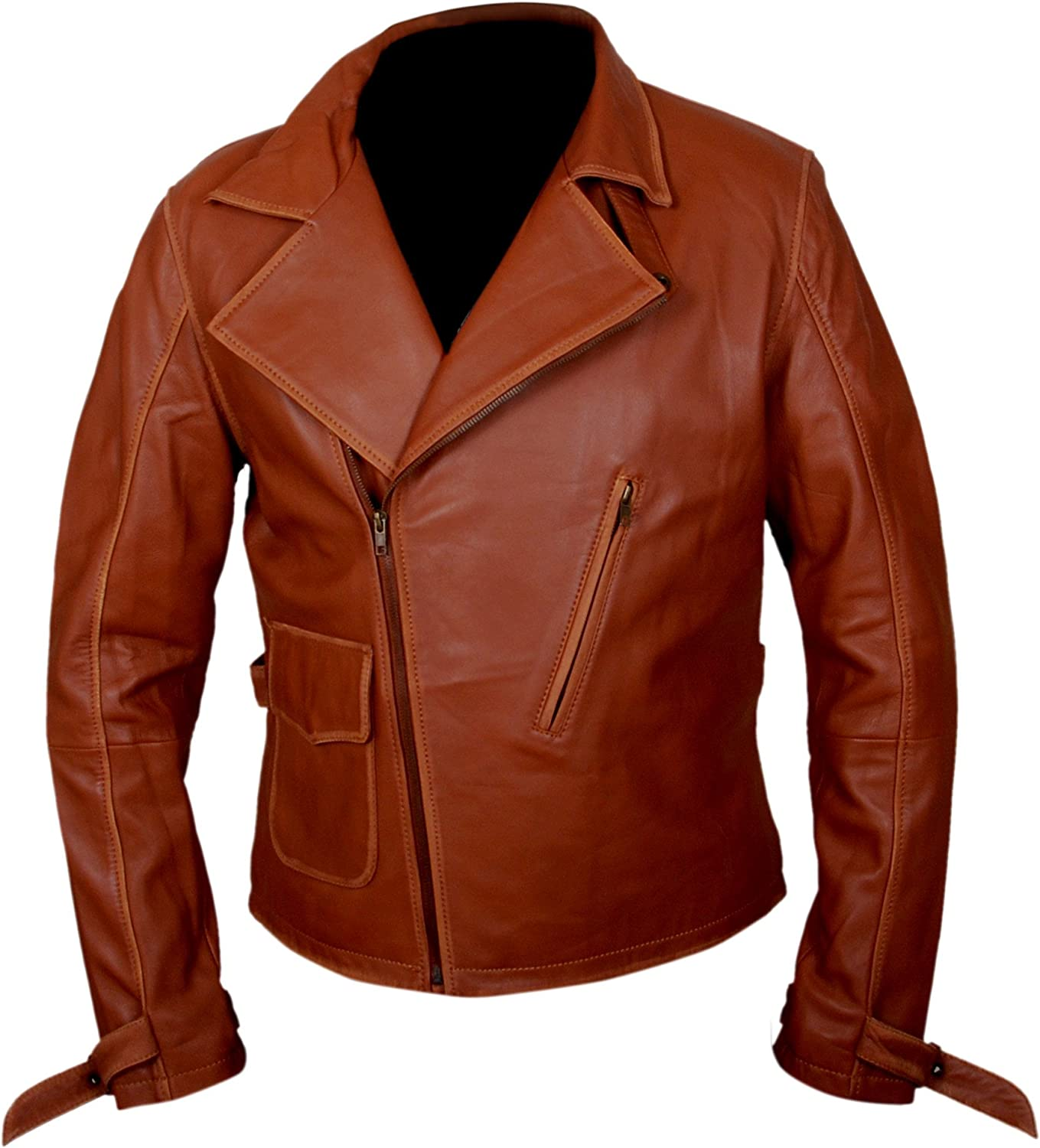 F&H Kid's Genuine Leather Captain America First Avenger Double Rider Jacket