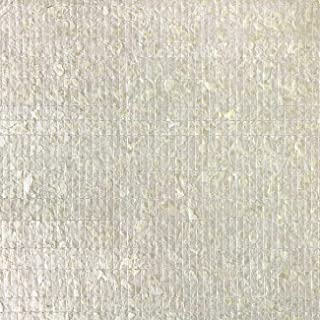 Luxury Shell Wall Covering WallFace CSA02 CAPIZ Non-Woven Wallpaper Hand-Crafted with Real Capiz Shells Mother-of-Pearl Look Cream-White 2.45 m2