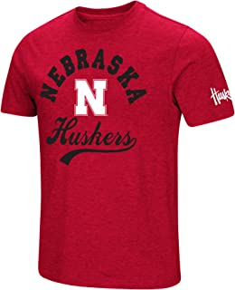 NCAA Colosseum Men's Vintage Dual-Blend T-Shirt with 2 Logos