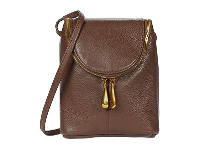 Hobo Fern (Acorn Velvet Hide) Cross Body Handbags