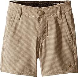O'Neill Kids - Locked Stripe Hybrid Shorts (Toddler/Little Kids)