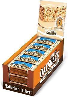 Davina Kohlenhydrat Riegel Oat Snack Riegel, 15 Riegel á 65 g, Vanille, 607001