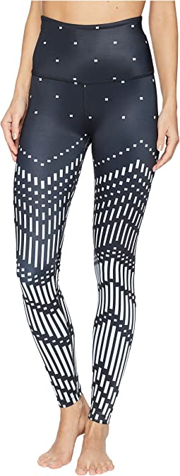 Engineered Lux High-Waisted Midi Leggings
