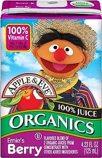 Apple & Eve Sesame Street Organics, Bert and Ernie's Berry, 4.23 Fluid-oz., 36 Count