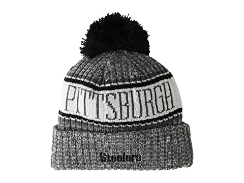 48ed4384d10 New Era Pittsburgh Steelers Sport Knit at Zappos.com
