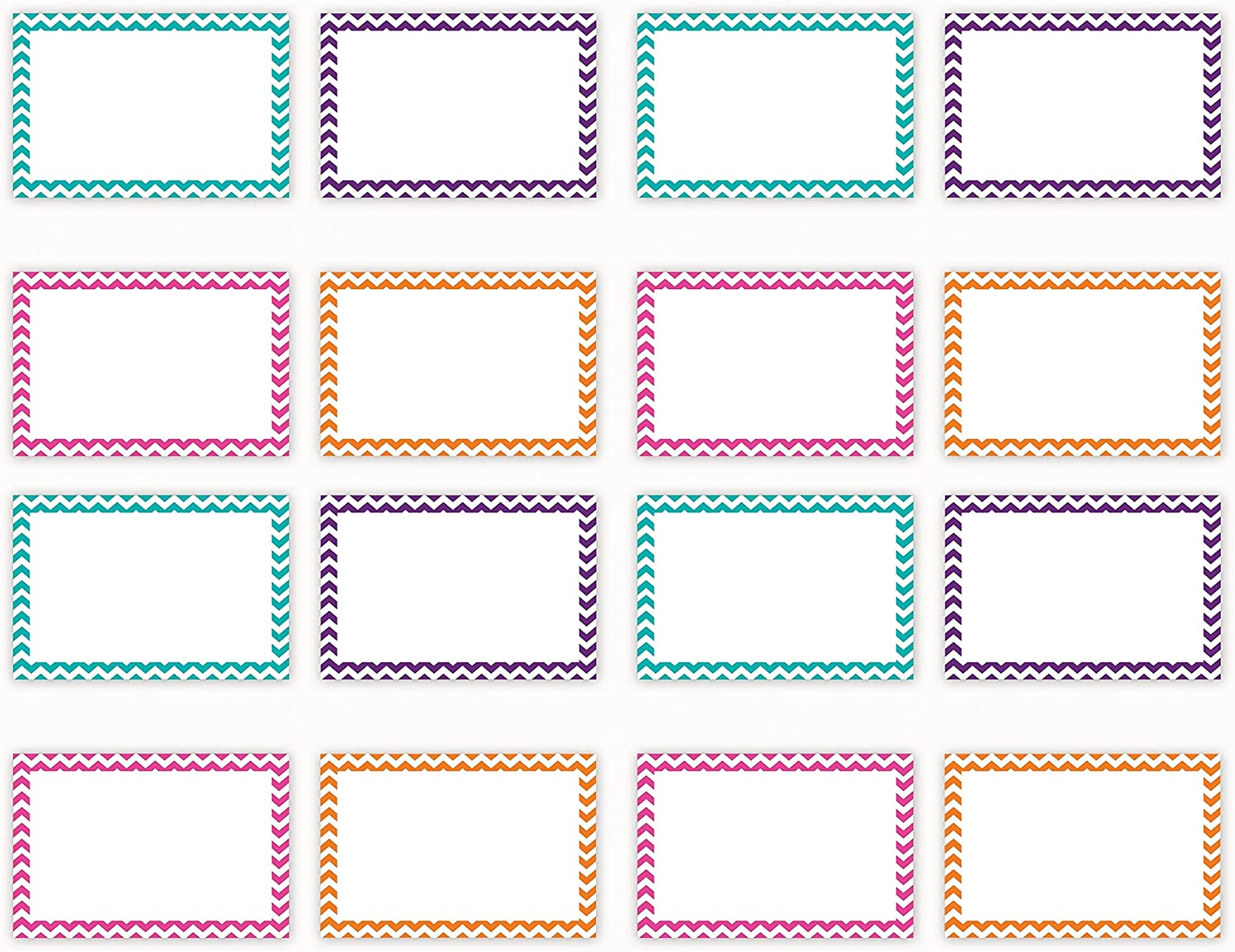 Top Notch Teacher Products Border Index Max 85% OFF Cards 75 Count Blank Product