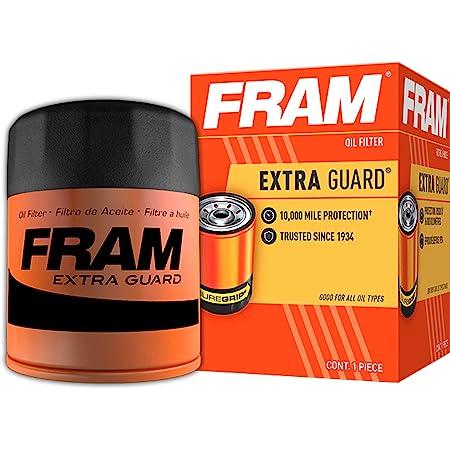 FRAM Extra Guard PH3614, 10K Mile Change Interval Spin-On Oil Filter