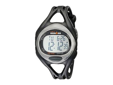 Timex Ironman Triathlon Sleek 5/1 Black Running Sport Watches 7293991