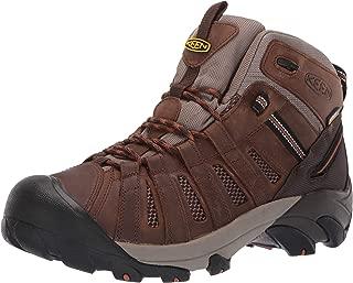 KEEN Utility Men's Cody Mid Waterproof (Soft Toe) Eh-Rated Waterproof Work Industrial Boot