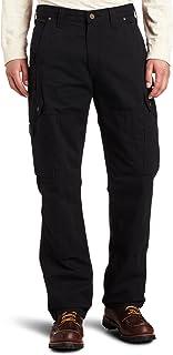 Carhartt Pantaloni da Uomo, vestibilità Comoda, in Twill con Effetto Slavato