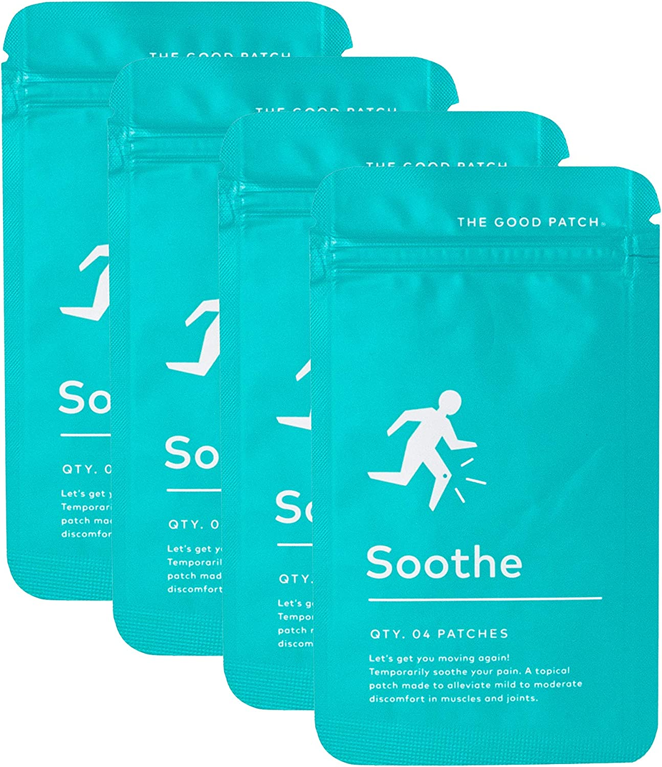 The Good Patch Soothe All Relief Natural with Louisville-Jefferson County Limited time sale Mall Pain