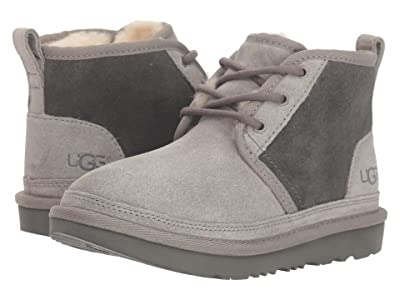 UGG Kids Neumel II (Little Kid/Big Kid) (Charcoal) Kid