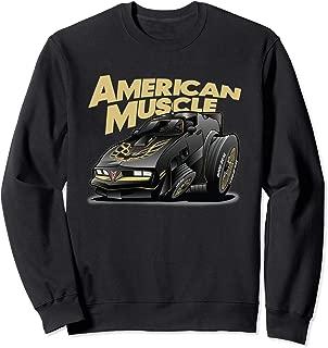American Muscle Hot Rod 400 Firebird Custom Car Sweatshirt