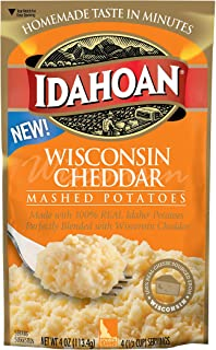 Idahoan Cheese Across America - Wisconsin Cheddar, 12 Pouches (4 Servings Each)