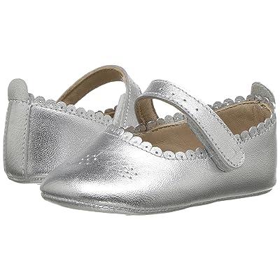 Elephantito Ella Ballet (Infant/Toddler) (Silver) Girls Shoes