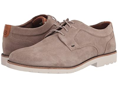 Rockport Sharp and Ready 2 Plain Toe (Sand Suede) Men