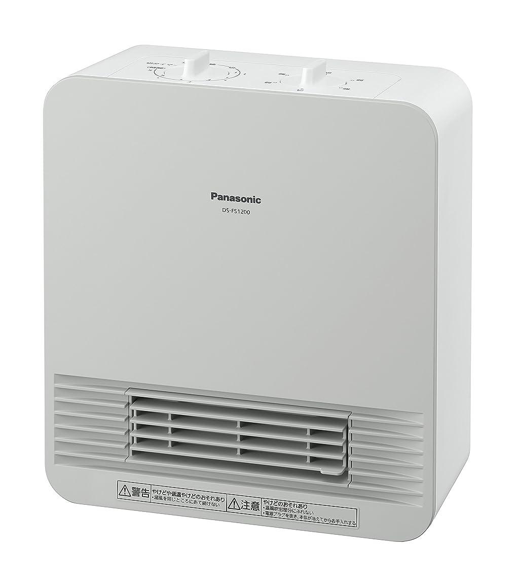 フォーム関与するミシンパナソニック セラミックヒーター ホワイト DS-FS1200-W