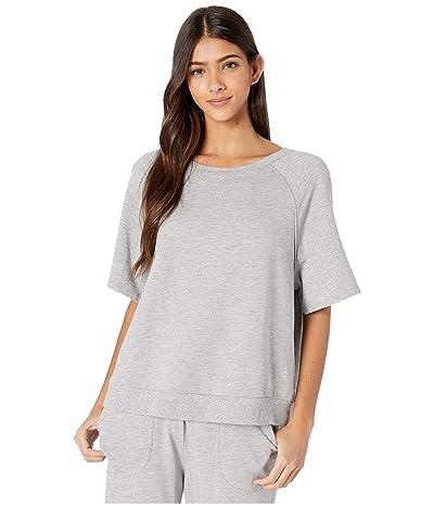 Eberjey Blair Meadow Sweatshirt (Heather Grey) Women