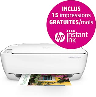 HP Deskjet 3636,多功能打印机(A4、WLAN 打印机、扫描仪、复印机、HP 即时油墨、Apple AirPrint、ePrint、USB、4800 x 1200 dpi)白色/蓝色