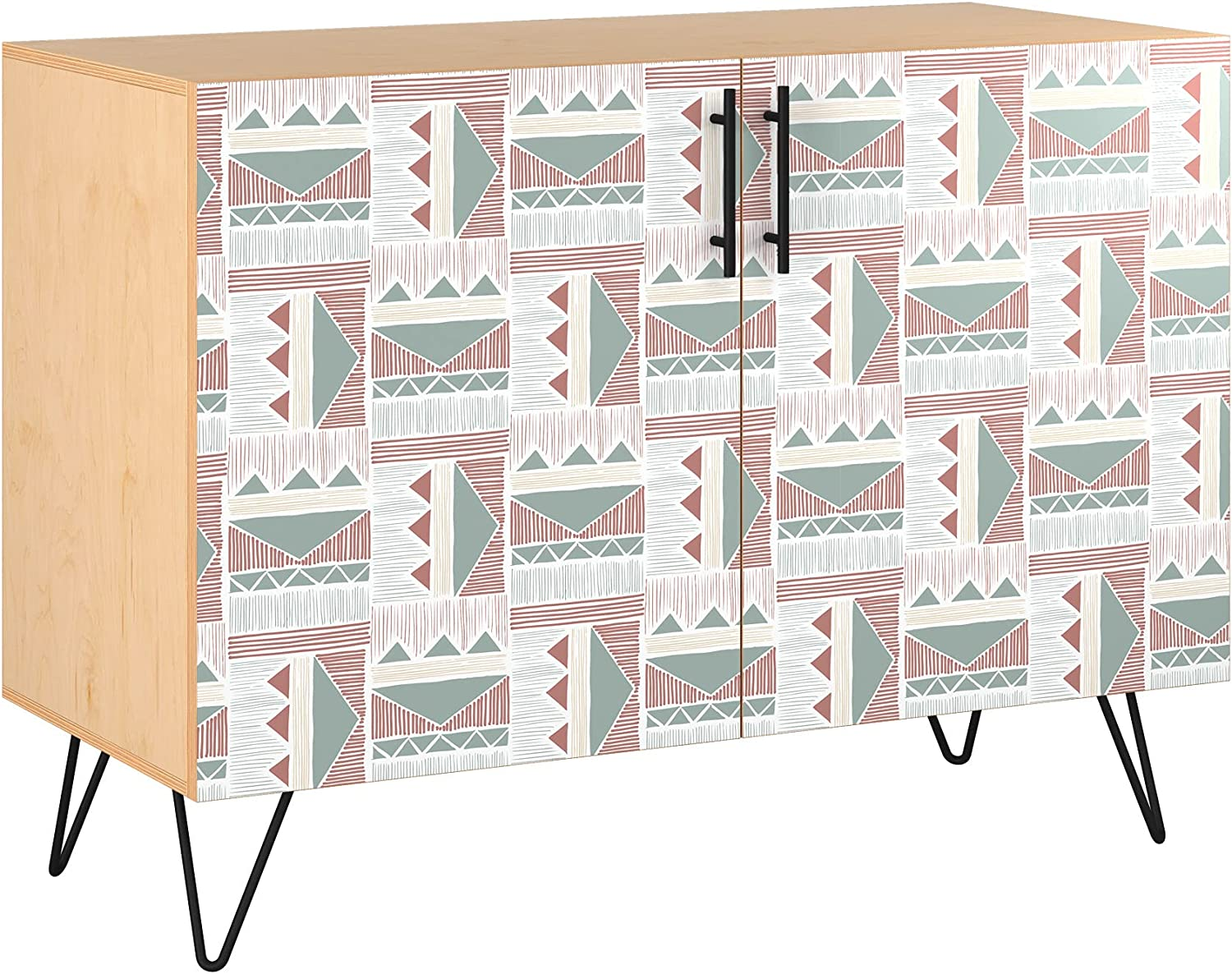 Poppy Credenza - Natural Sadie Design Base 11 in A surprise price is realized Styl Max 64% OFF 5 Colors
