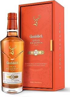 Glenfiddich Single Malt Scotch Whisky Reserva 21 Jahre mit Geschenkverpackung 1 x 0,7 l – besondere Variante des meistverkauften Malt Sctoch Whisky der Welt