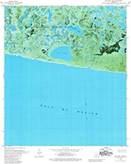 Louisiana Maps - 1979 Rollover Lake, LA USGS Historical Topographic Map - Cartography Wall Art - 44in x 55in