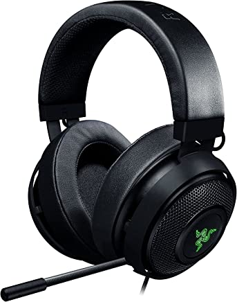 fdc4594496b Razer Kraken 7.1 V2: 7.1 Surround Sound - Retractable Noise-Cancelling Mic  - Lightweight