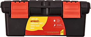 Am-Tech 10 Mini Small Plastic Tool Box With Removable Tray by Amtech