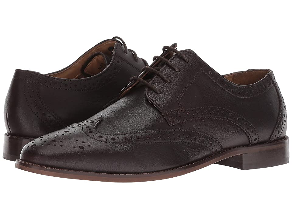 Florsheim Finley Wing-Tip Oxford (Brown Tumbled) Men