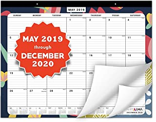 Anything Alma 2019-2020 Desk Calendar: Large Monthly Pages - 22
