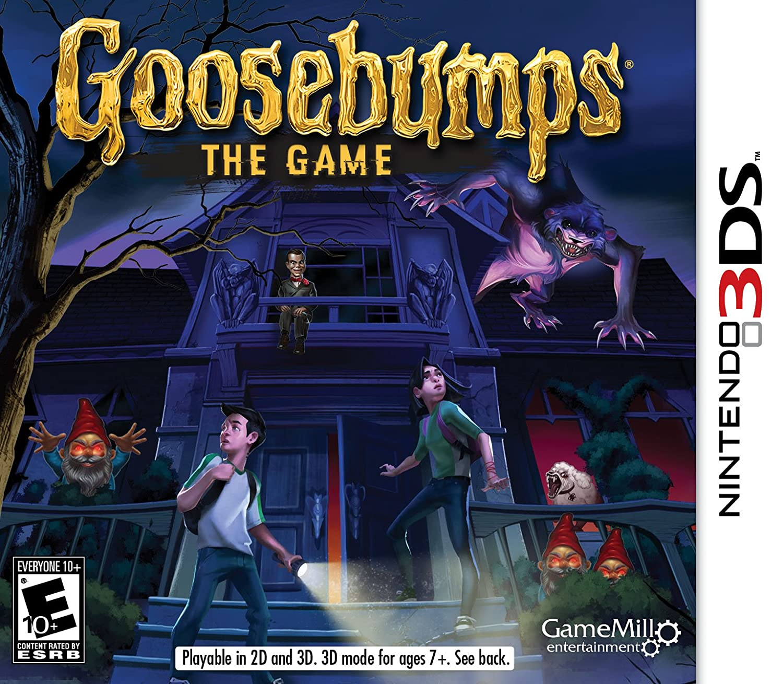 Goosebumps the Game 3DS Nintendo cheap - Tulsa Mall