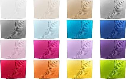 10 flieder Drap//drap-housse en jersey pour enfant 70 x 140 cm coloris assortis 70x140 cm