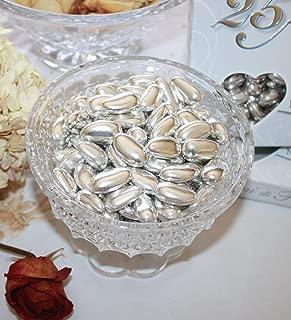 Silver Jordan Almonds 1LB Bag (One Pound)
