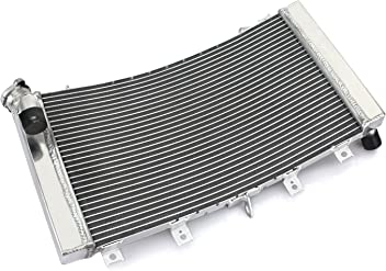 TARAZON Moto Aluminium Refroidisseur deau radiateur pour Polaris YXR700 Rhino 700