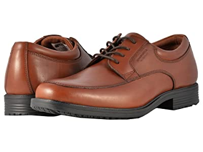 Rockport Essential Details Waterproof Apron Toe (Tan Antique Leather) Men